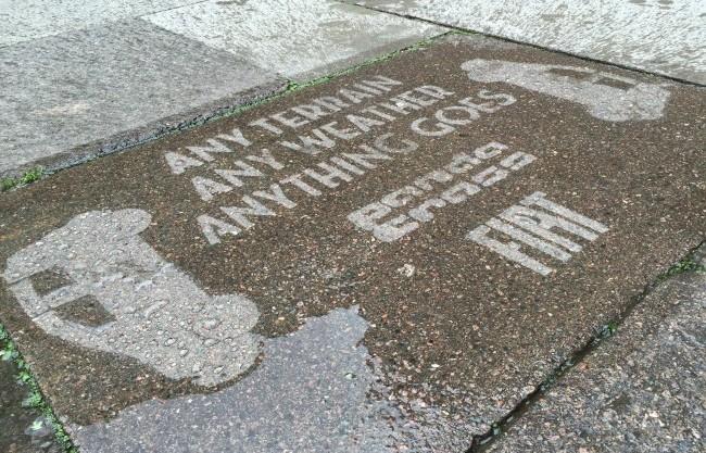 Rain Stencils