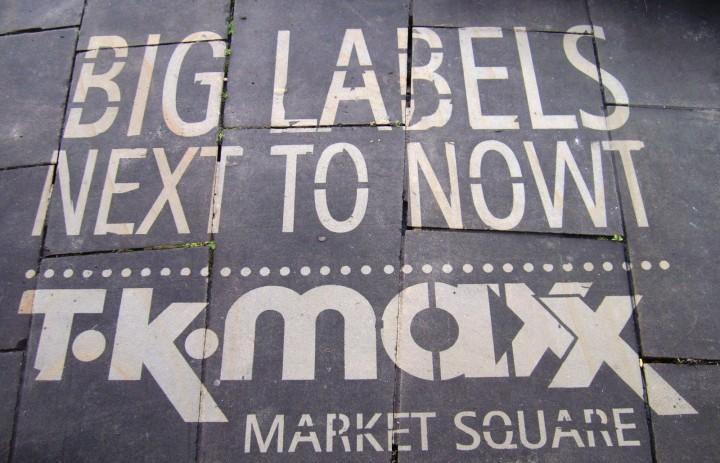 TKMaxx Clean Stencil